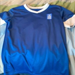 Greece shirt size 10
